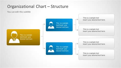 organizational chart template powerpoint org chart template for powerpoint slidemodel