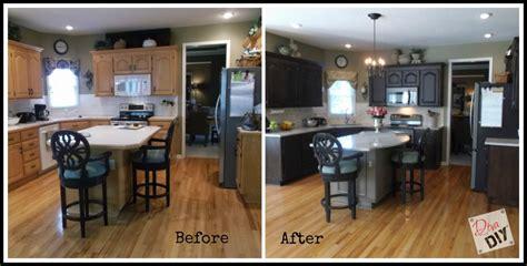 oak kitchen cabinet makeover kitchen makeover