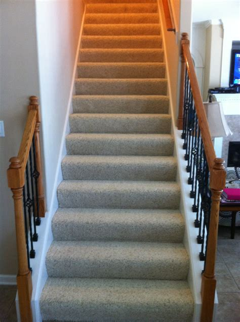 Which Carpet For Stairs - finishing basement stairs modernize