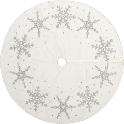 frosted tree skirt contemporary christmas tree skirts