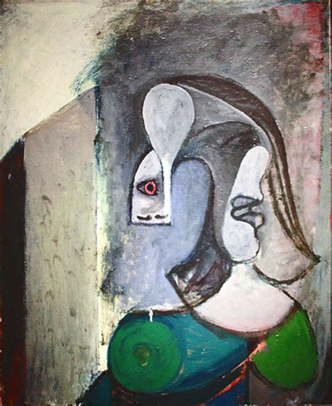 picasso paintings chicago of a maar 1939