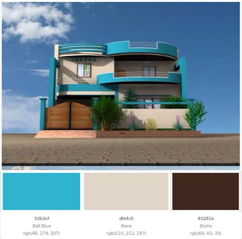 modern color combination best home exterior color combinations and design ideas