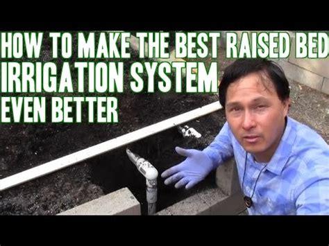 raised bed irrigation system