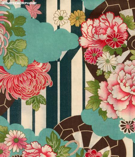 kimono print high waist pinafore jsk 2012