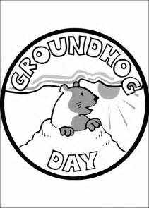 groundhog day coloring pages groundhog day coloring pages coloringpagesabc