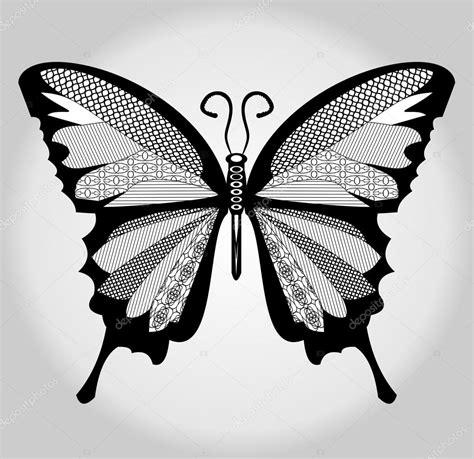 imagenes de mariposas en negro mariposa blanco y negro dibujo con piezas nacidas en alas