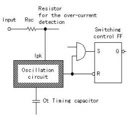 capacitor oscillation frequency the operation explanation of mc34063a