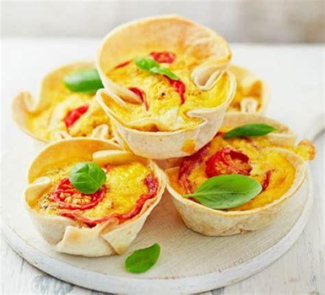 mini pizza quiches recipe bbc good food