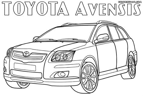 coloring pages toyota cars toyota coloring pages coloring pages to download and print