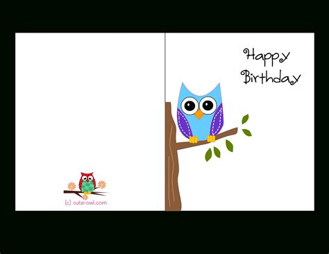 free photo card templates to print template for a birthday card greeting card template