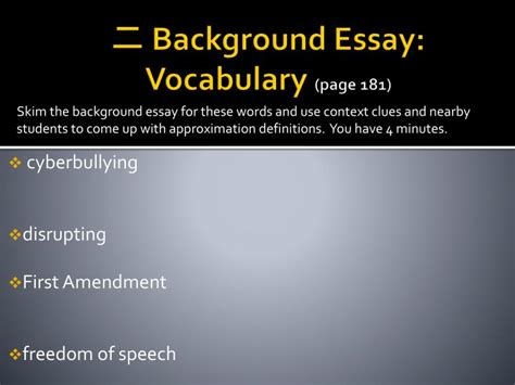 Amendment Freedom Of Speech Essay by Ppt Should Schools Be Allowed To Limit Students Speech Powerpoint Presentation Id