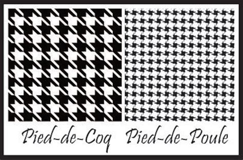 Pied De Coq by Moda 233 Estilo Ser 225 Pied De Poule E Pied De Coq Oi
