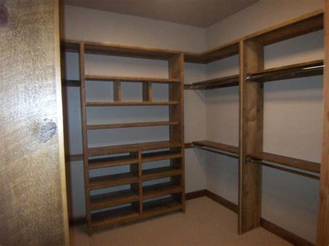 custom wood closet shelving the homy design