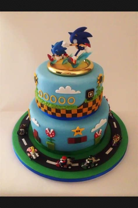 sonic  hedgehog cake ideas sonic themed cakes