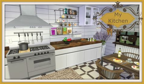 How Do You Install Kitchen Cabinets by Sims 4 My Kitchen Dinha