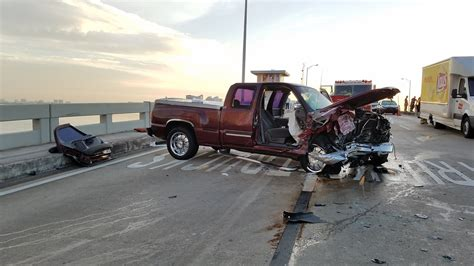 truck crashes 2 hospitalized after truck crashes on 79th