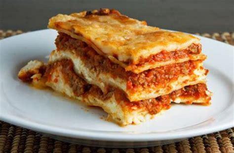 resep praktis lasagna roti rumahan  sederhana