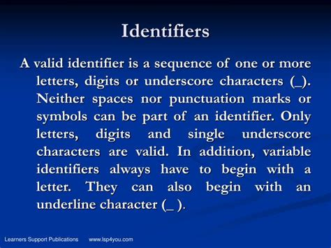 Character Variable Letter Ppt Variables And Data Types Powerpoint Presentation Id 3887607