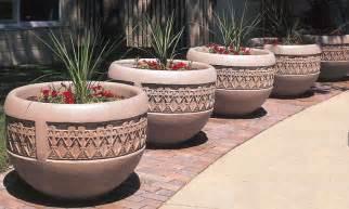 concrete planters planters security planters