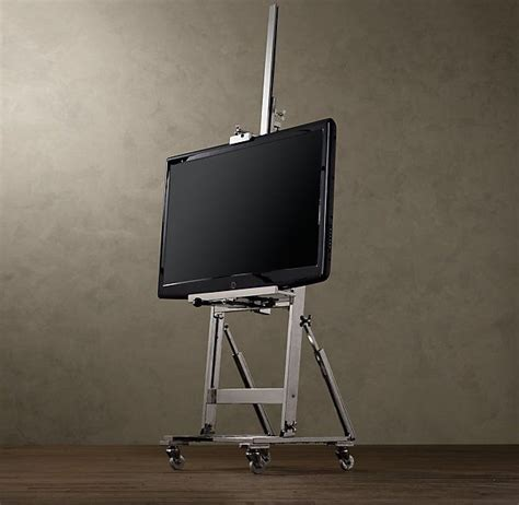 easel tv stand restoration hardware woodworking projects