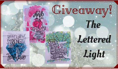 This Is Lit Giveaway by The Lettered Light S Giveaway In
