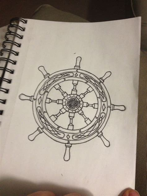 ship wheel tattoo design ships wheel design copyright