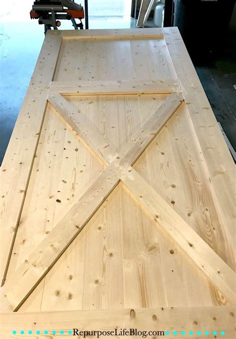 sliding barn door making barn doors