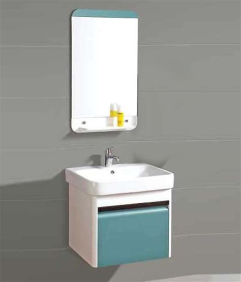 bathroom cabinets india buy sanitop ceramic wash basin and pvc bathroom