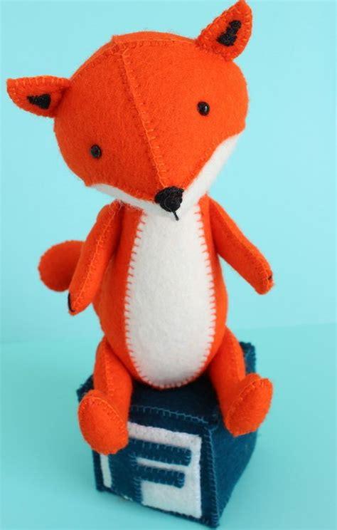 free pattern felt toys f is for fox pdf sewing pattern fox toy felt fox fox