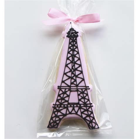 Whipped Bakeshop Philadelphia: Eiffel Tower Cookie Favors