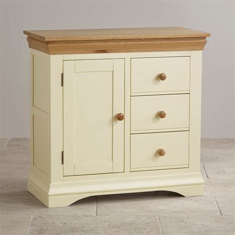 storage furniture country cottage oak and painted storage cabinet