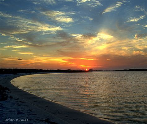 perdido key sunset august 8 2012 by brian dumas