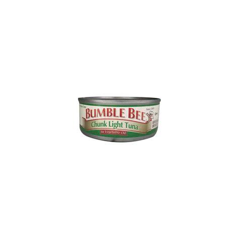 bumble bee chunk light tuna bumble bee chunk light tuna in vegetable 6 pack