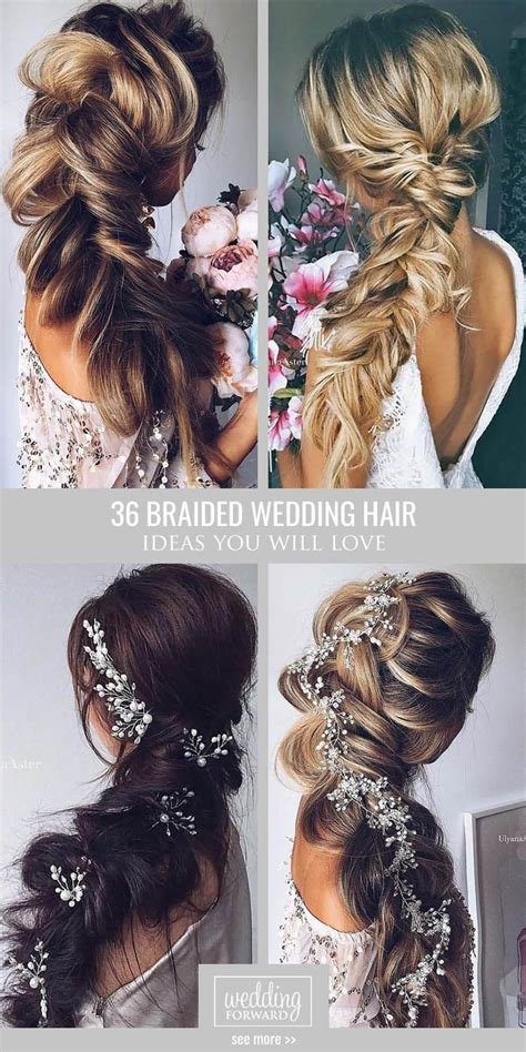 Wedding Hair Braid by Braided Hair Wedding Www Pixshark Images