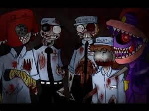 Zombies guards fnaf speedpaint youtube