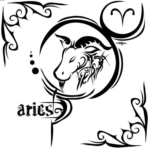 100 and black aries tribal aries images 58 aries zodiac sign tattoos ideas