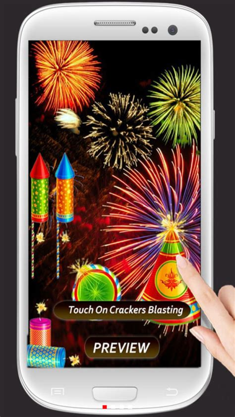 diwali theme download for mobile diwali crackers touch theme 1mobile com