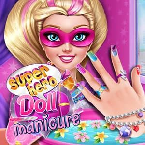 Nail Spelletjes by Doll Manicure Spel Funnygames Be