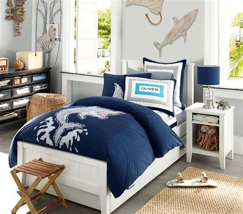 oversized shark duvet cover pottery barn wade
