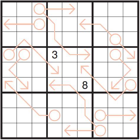 printable arrow sudoku p378