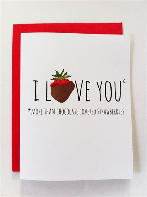 funny valentine card valentine s day card chocolate