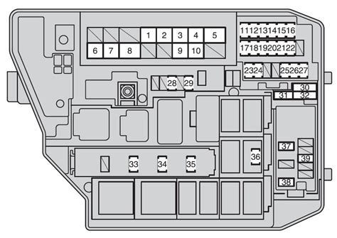 2012 toyota camry fuse box diagram wiring diagram with