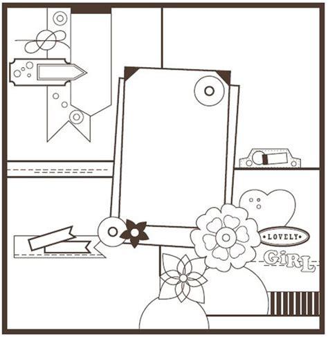 Basic Grey Sale At Scrapbookcom by Basic Scrapbook Sketch 12 19 11 Basicgrey
