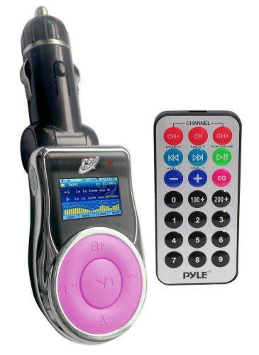 Diskon Mp3 Fm Modulator Pink Remote Slot Usb Sd Mmc gsi quality in car wireless free fm modulator