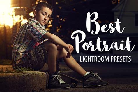 Best Portrait   Lightroom Presets ~ Actions ~ Creative Market