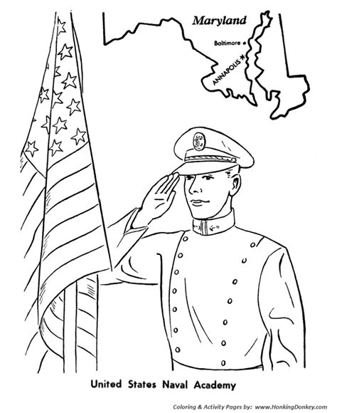 veterans day coloring pictures veterans day coloring pages us naval academy veterans coloring page sheets honkingdonkey