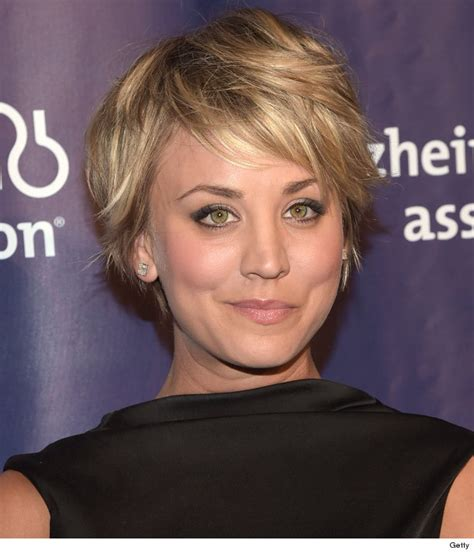 how does kaley cucco style her hair kaley cuoco debuts pink hair like the new look