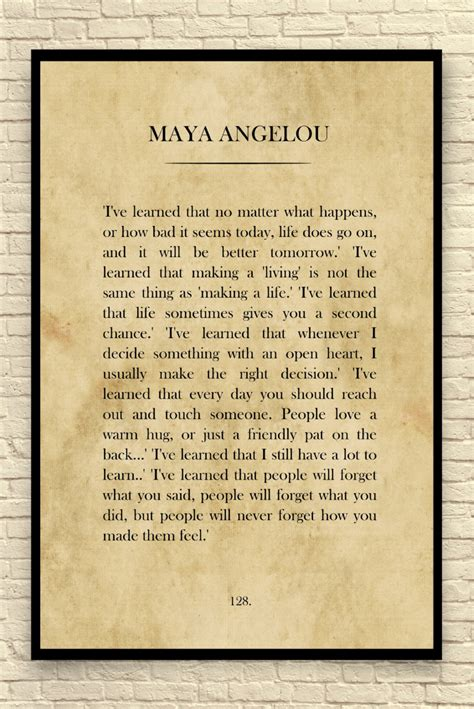 Printable Quotes By Maya Angelou | maya angelou print maya angelou quote custom art print book
