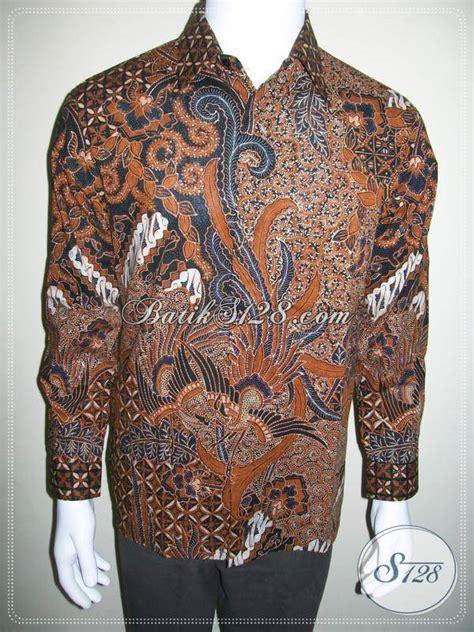 Kemeja Batik Lengan Panjang Lb 260 kemeja batik lengan panjang harga 200 ribuan ukuran m lp419ct m toko batik 2018