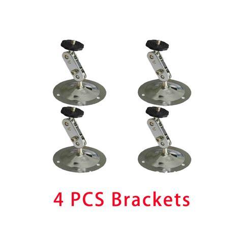 Pengukur Bracket Heigh Pcs 4pcs security cctv wall ceiling mounting metal 360 gimbal bracket ithirek